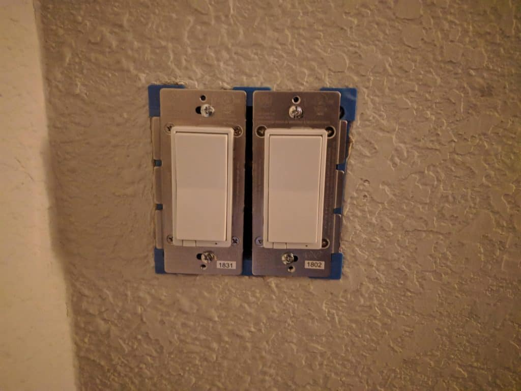 Switches in Wall