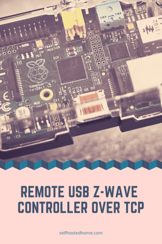 Remote USB Z-Wave Controller over TCP