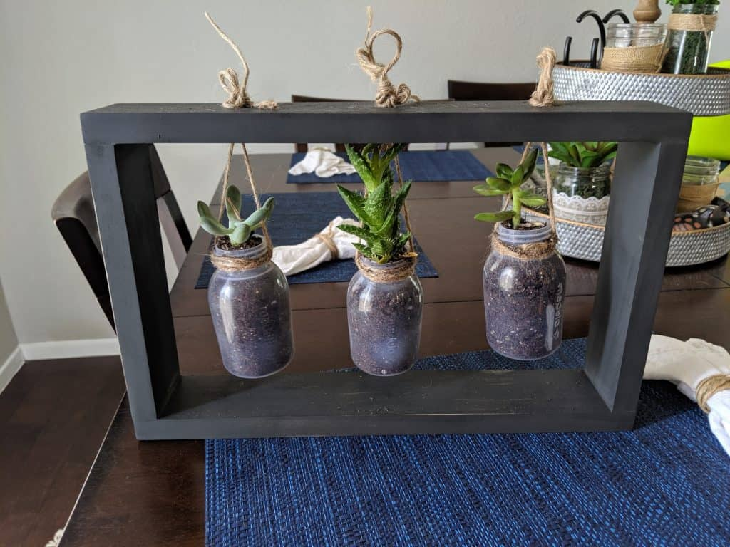 DIY Succulent Holder