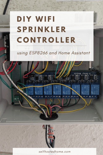 DIY WiFi Sprinkler Controller Software