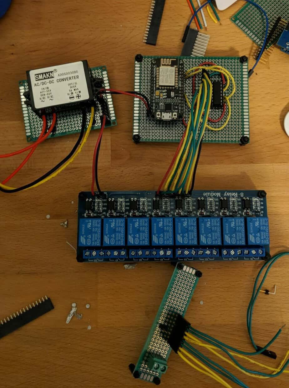 DIY WiFi Sprinkler Controller using ESP8266 (Part 1) - Self Hosted Home