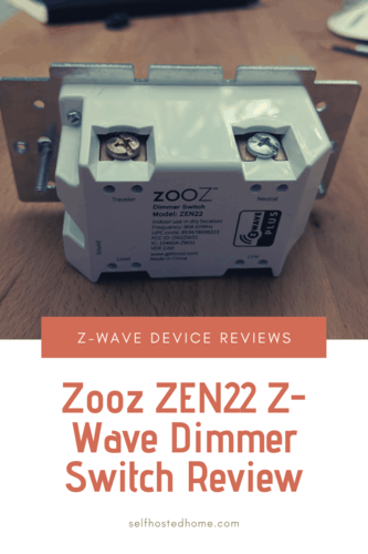 Zooz ZEN22 Z-Wave Dimmer Switch