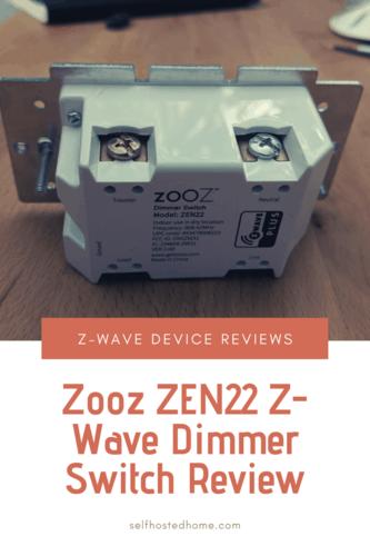 Zooz ZEN22 Z-Wave Dimmer Switch