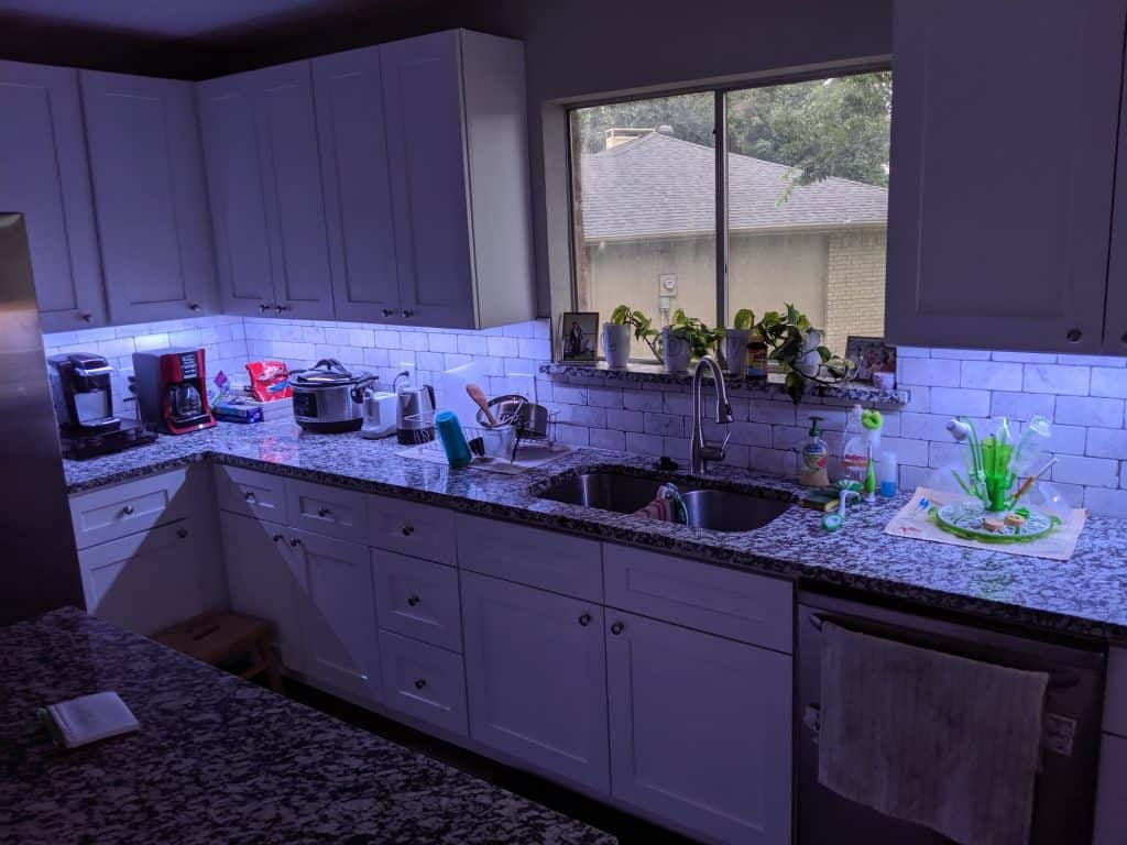 LED Lighting Whole Kitchen