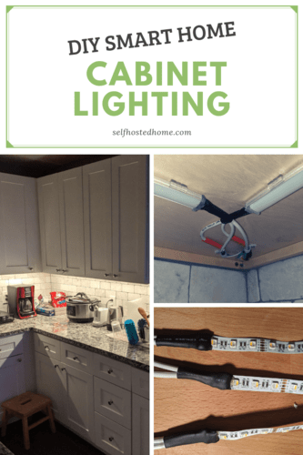DIY Smart Home Cabinet Lighting