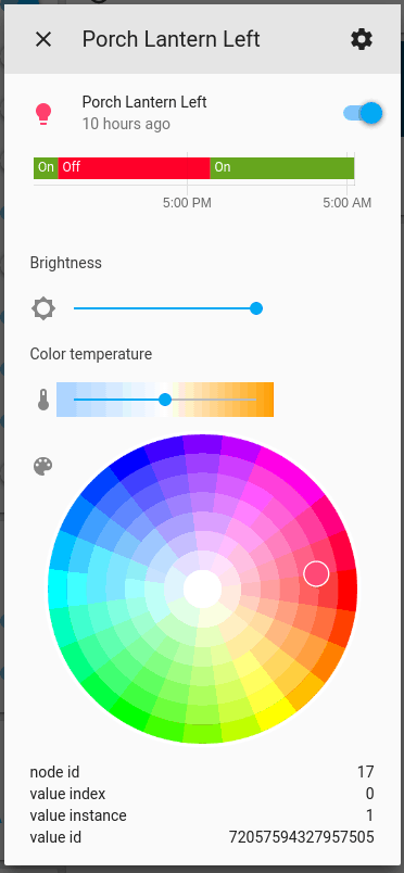 Light Bulb Home Assistant