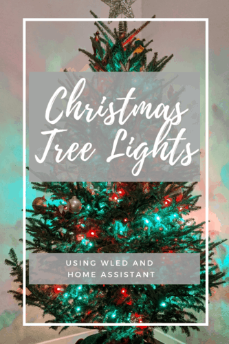 Christmas Tree Lights Using WLED
