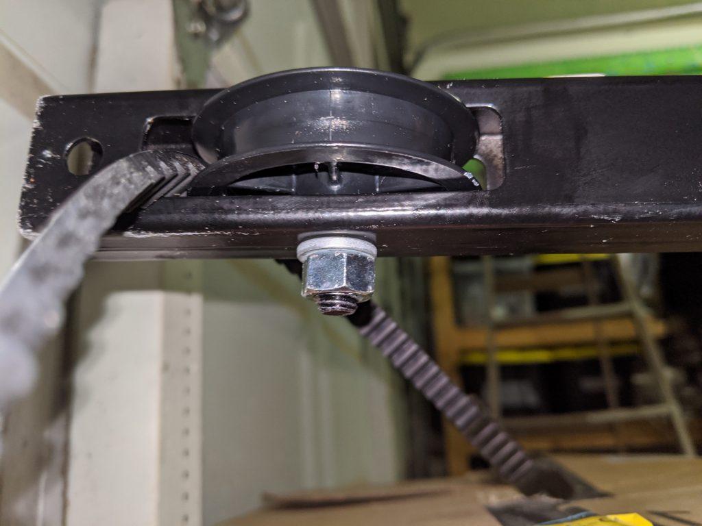 Belt Against Wheel