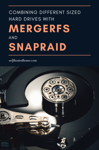SnapRAID mergerfs